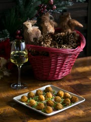 Jalapen–o and truffle cheese fritters, a great holiday appetizer, is seen at the J&G Steakhouse at the Phoenician in Scottsdale on Dec. 1, 2016.