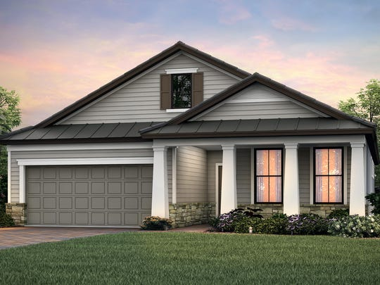 The Summerwood design by Pulte Homes at Babcock Ranch.