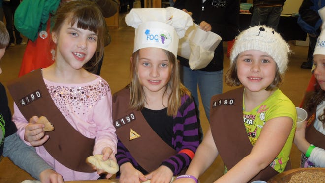 Children have opportunities to get hands on with food and nutrition at the Brown County Kids Food Event, March 19 at the Children's Museum of Green Bay.