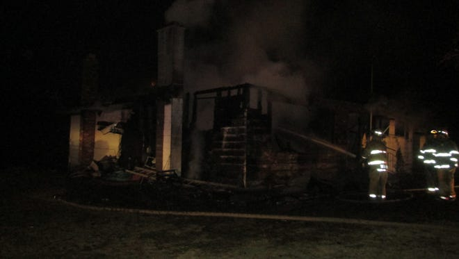 A man died in a weekend fire in Ionia County.