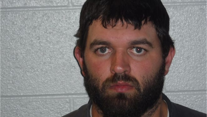 James Stepp, a Henderson County resident who was charged with involuntary manslaughter in connection with the shooting death of a 2-year-old girl.