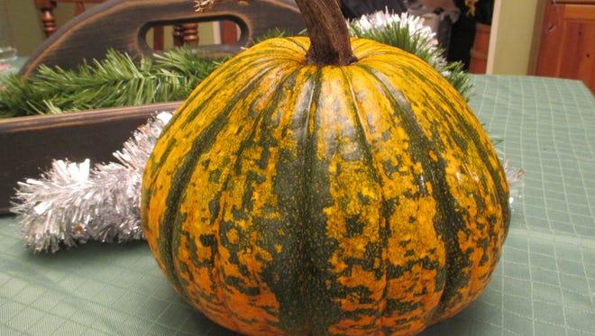 Leftover pumpkin