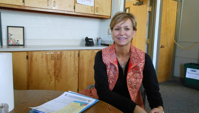 Charni Durham of the Region IX Education Cooperative is in charge of coordinating special needs screening of pre-schoolers in Ruidoso and six other school districts.