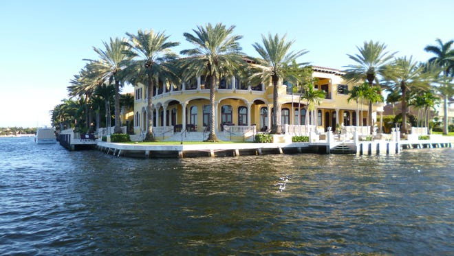 View from water taxi, Fort Lauderdale