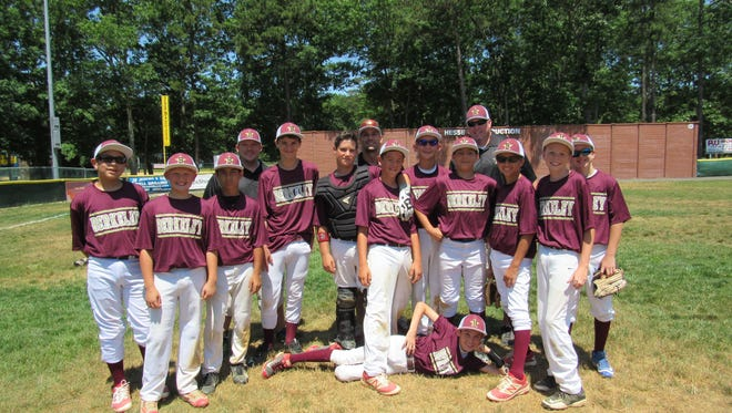 Berkeley Little League began pool play with a 14-4 win over Manchester.