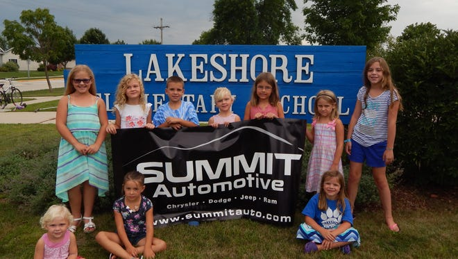 The Lakeshore Elementary Obstacle Course Challenge & Summit Automotive Drive for Kids event will be held on Saturday, Sept. 17.