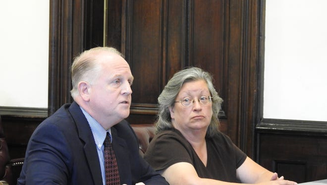 Linda Vollene, 54, of New Concord, will serve three years of community control sanctions on convictions stemming from the theft of more than $16,000 from her former employer, a Coshocton-based company. Vollene appeared for sentencing Tuesday in Coshocton County Common Pleas Court, represented by Public Defender Jeff Mullen