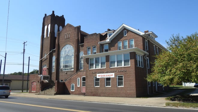 Zanesville First United Methodist Church at 857 Putnam Avenue serves as an overnight homeless shelter.