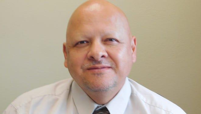 Cobre High athletic director Pat Abalos