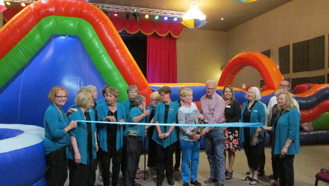 The Ruidoso Valley Chamber of Commerce and the Ruidoso Valley Greeters celebrated a ribbon cutting and Business After Hours for Kids Fit & Fun at 2710 Sudderth Drive. For more information contact owner Gina McPherson at 575-257-0308.