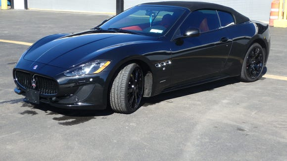 The state Office of General Services will auction off this Maserati GranTurismo on Wednesday, Nov. 2, 2016.