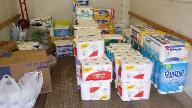 The Altrusa of Oshkosh toilet paper drive Oct. 22 was deemed a huge success.