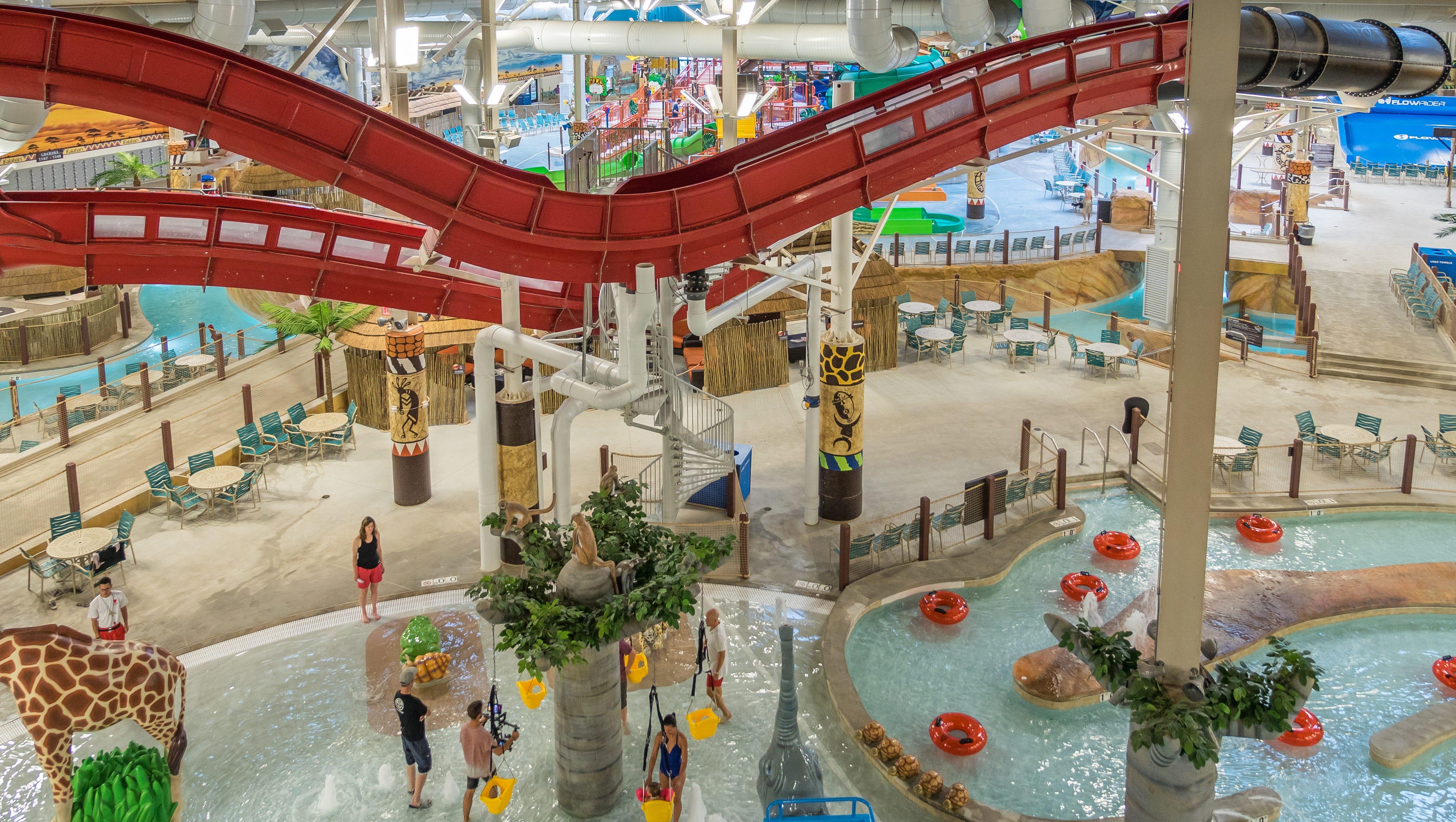 Poconos' Kalahari: America's largest indoor water park on