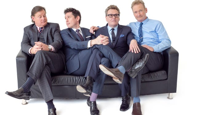 """The cast of """"Whose Live Anyway?,"""" Joel Murray, Jeff B. Davis, Greg Proops and Ryan Styles will perform at the Wellmont Theater in Montclair on May 4."""