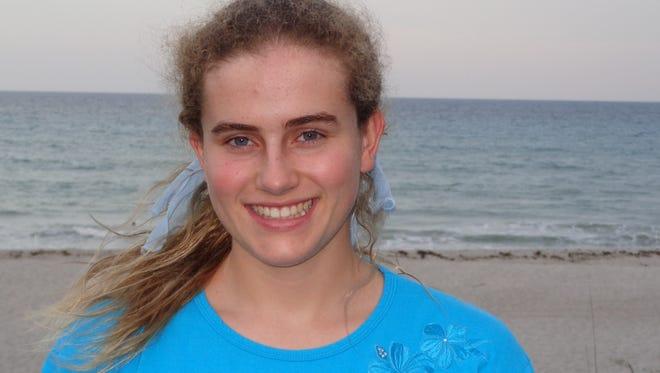 Satellite High 2017 Top Scholar Kelly Van Woesik