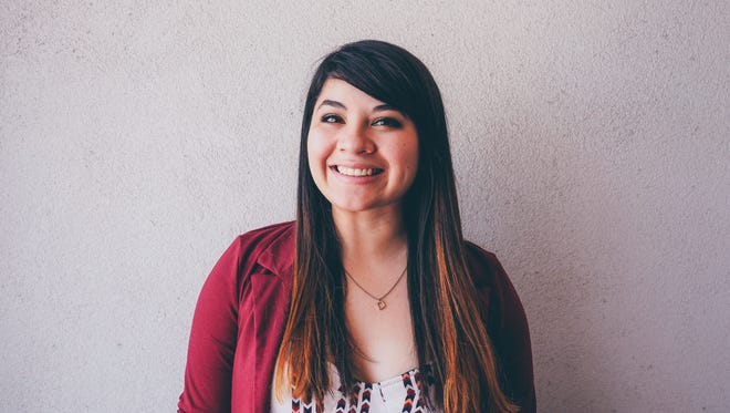 Reyna Montoya will tell a story at the Arizona Storytellers Project: Growing Up on May 2, 2017.