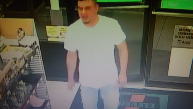 El Paso police are trying to identify a man who assaulted a store clerk Friday at a 7-Eleven store on Yarbrough Drive near Montana Avenue.