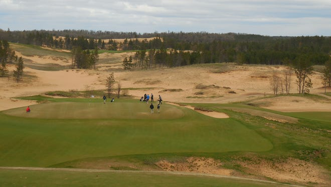 Sand Valley in the Town of Rome opened to the public May 2.