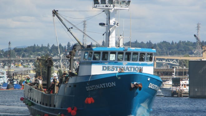 File photo of the Destination in the Seattle Ship Canal in 2016.