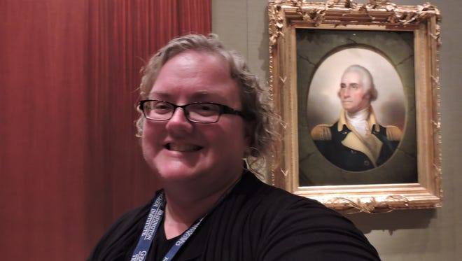 Billie Ann McBride traveled to George Washington's Mount Vernon to participate in a five-day, residential professional development program July 18-22.