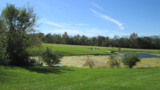 Plans for a new Union County park have been stymied by two problems: no money to develop the park and the lack of access to the property.