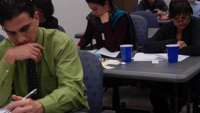 People learn to be advocates for their communities at Habitat for Humanity's Connected Community workshop.