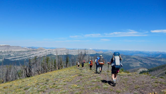 Dropstone Outfitting owners Yve Bardwell and Maggie Carr won the 2018 Fire Within Aspire Award honoring women in business. Dropstone leads trips into the Bob Marshall Wilderness.