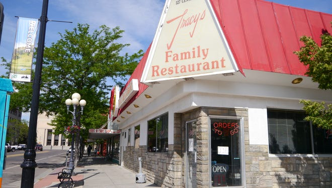 Although nothing has been moved out or dismantled, Tracy's Restuarant in Great Falls has been closed for at least a week.