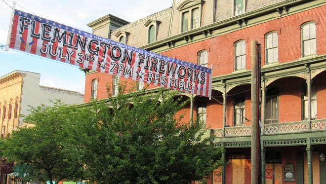 Flemington Borough has approved exploring the use of eminent domain to acquire the Union Hotel.