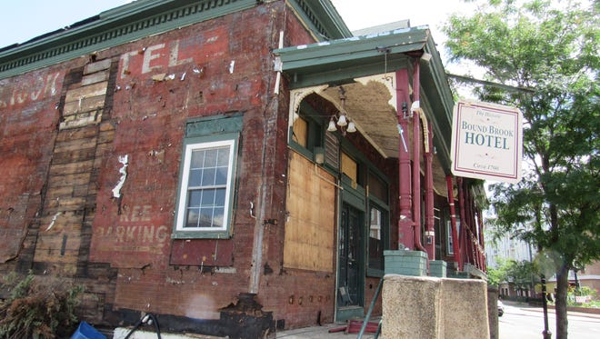 The historic Bound Brook Hotel will be demolished to make way for another new apartment building on Bound Brook's Main Street.