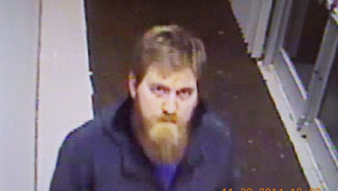 An unidentified male allegedly vandalized and burglarized Christ Hospital on Thursday.
