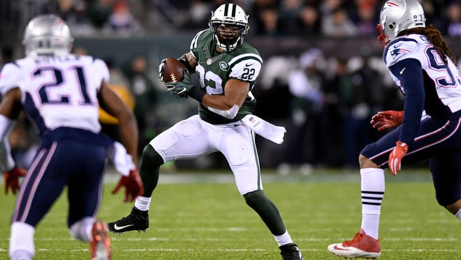 Expect running back Matt Forte to be a big part of the game plan as the Jets try to take down the Colts on Monday night.