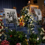 Motown greats pay tribute to Sylvia Moy at funeral