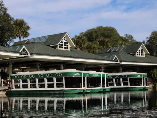 Silver Springs, Florida's first tourist attraction,