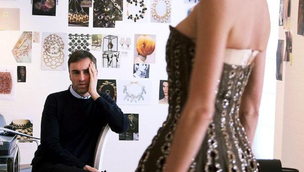 """Raf Simon, the new creative director of the Dior fashion house, has eight weeks to put together his line for Parish Fashion Week in """"Dior and I."""""""