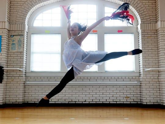 Czareanna Burford, a dance student at Fort Pierce Magnet