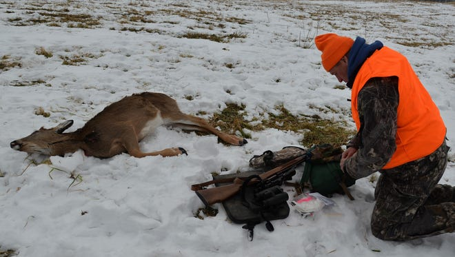 """Mike Foy spent half of his 30-year DNR career dealing with chronic wasting disease. He thinks it's time to """"incentivize"""" hunters to shoot more CWD-carrying deer each year than the herd can produce."""