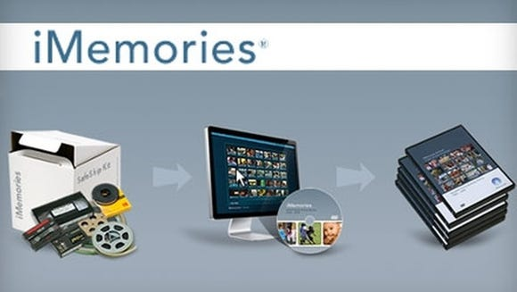 iMemories digitizes video and photos