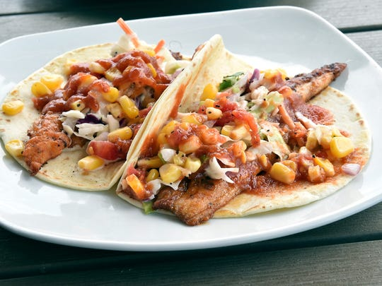 Catfish tacos are a popular dish served at 10 South in Vicksburg.