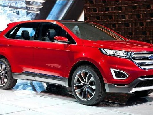 Car Review 2016 Ford Edge Titanium Crossover Suv