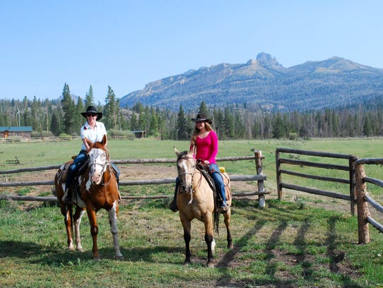 wyoming dude ranches DON'T OVERWRITE