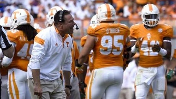 Tennessee is looking up under Butch Jones, but is it ready to contend for an SEC title this season.