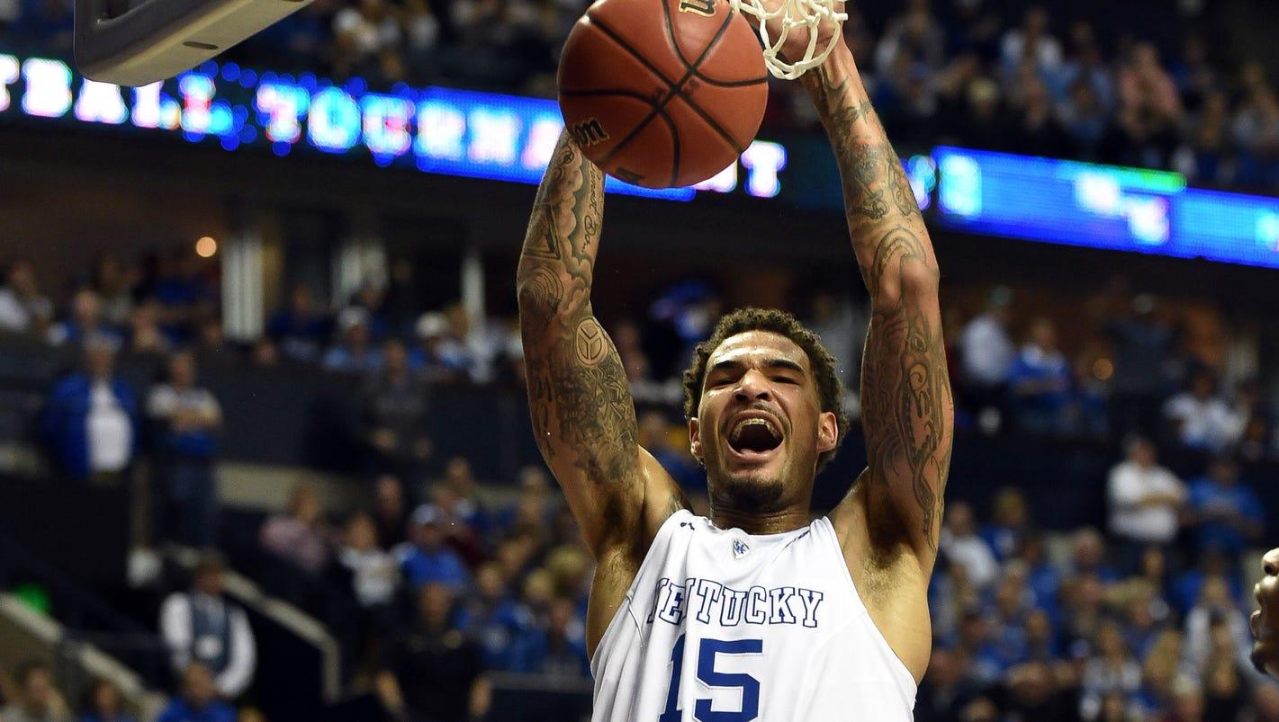 No. 1 Kentucky routs Auburn en route to SEC championship game