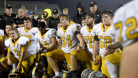 Murphy needed a fourth-quarter comeback to move on to the third round of the NCHSAA playoffs.