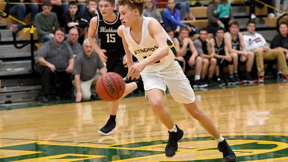 Reynolds hosted North Buncombe in boys basketball at