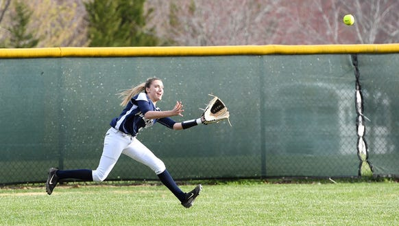 Roberson hosted Asheville in softball on Tuesday, March