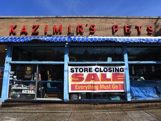 Kazimir's Pet Shop is closing