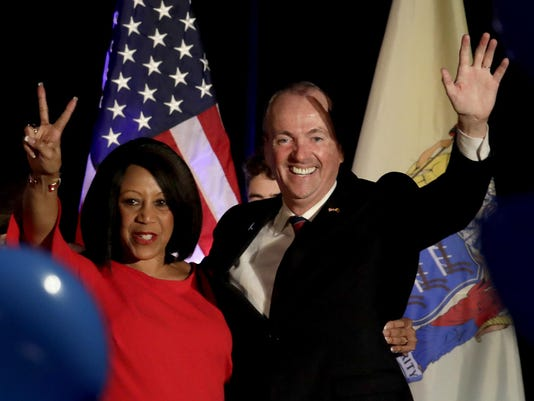 Phil Murphy,Sheila Oliver
