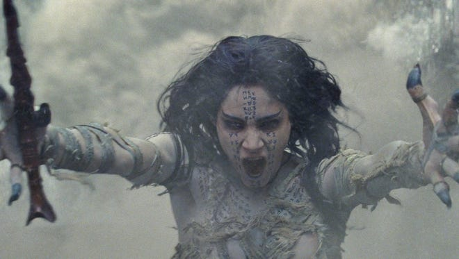 "Sofia Boutella is the title supernatural villain in the movie that gives new meaning to the term ""wrap party,"" ""The Mummy."""