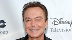 David Cassidy arrives at the ABC Disney Summer press